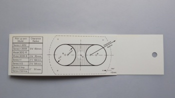 Sme Mounting Template For 3012 And 3009
